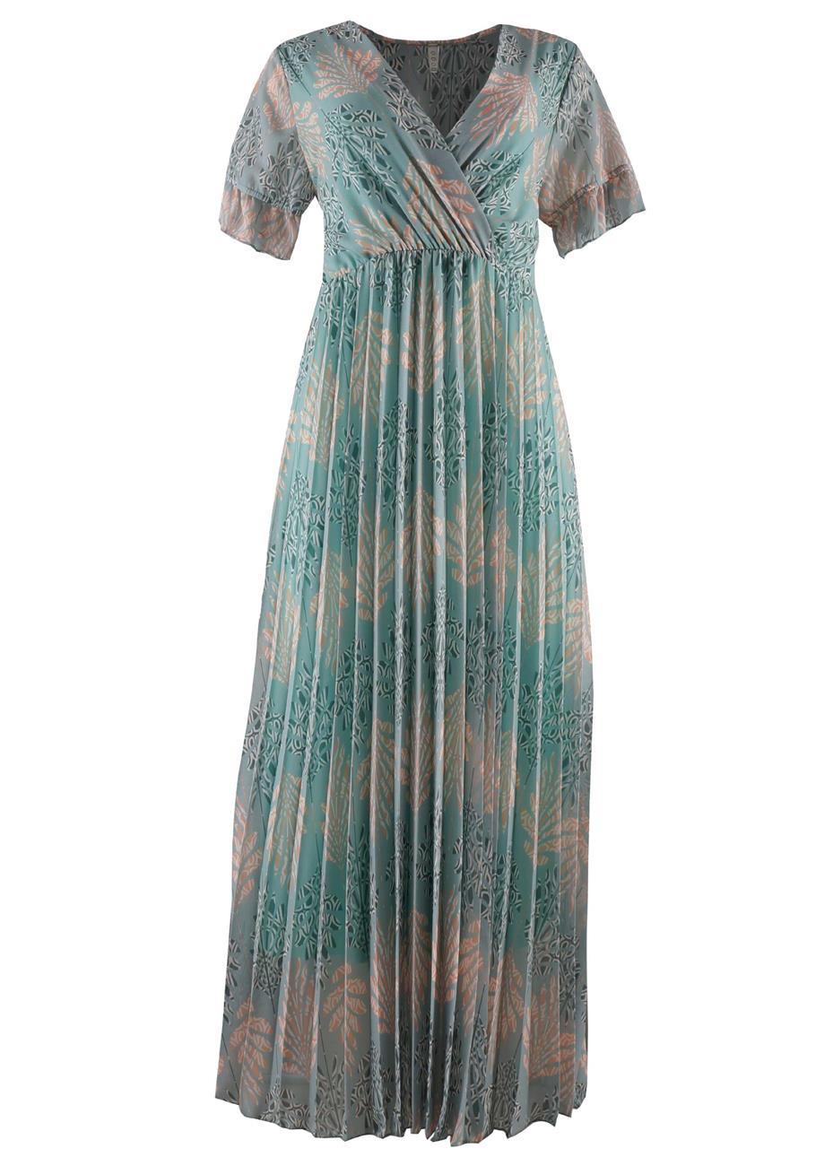 Φόρεμα all print floral. Timeless style. ΜΕΝΤΑ